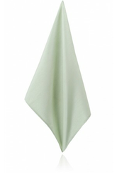 Gleam Green Poly Dupion Handkerchief