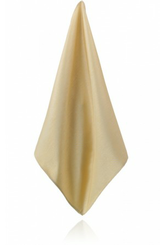 Gold Poly Dupion Handkerchief