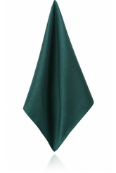 Racing Green Dupion Handkerchief