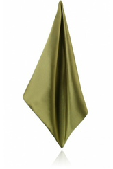 Lime Green Poly Satin Handkerchief