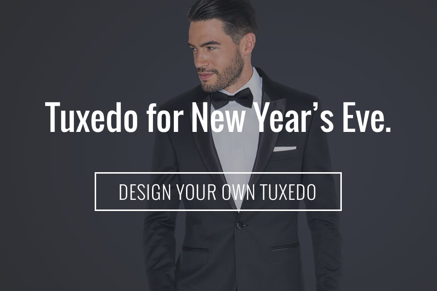 Tux For New Year Billboard