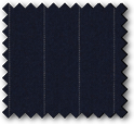 Grenoble - Navy Pinstriped