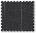 Grenoble - Grey Pinstripe