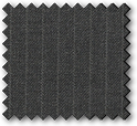 York - Dark Grey Pinstriped