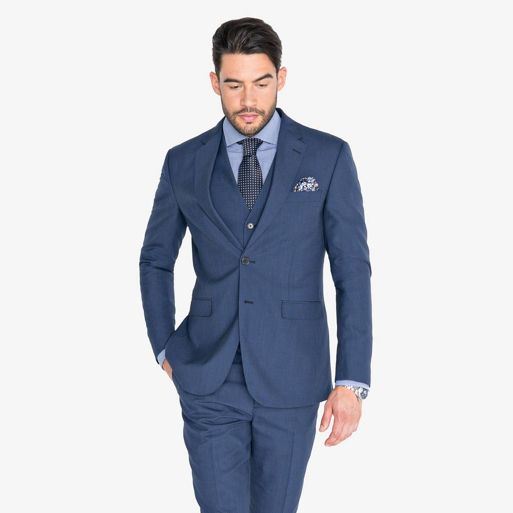 Flynn Night Blue Suit | Suitopia